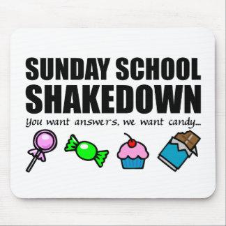 Sunday School Shakedown Mousepads