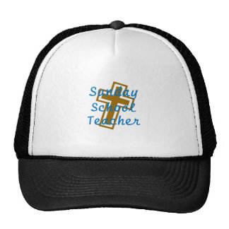 SUNDAY SCHOOL TEACHER CIR LT CAP