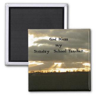 Sunday School Teacher Magnet