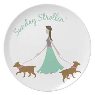 Sunday Strollin Party Plates
