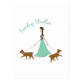 Sunday Strollin Post Card