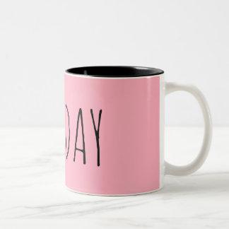 Sunday Two-Tone Coffee Mug