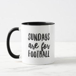 """""""Sundays Are For Football"""" - Ringer Combo Mug"""