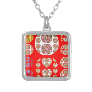 Sundecor Silver Plated Necklace