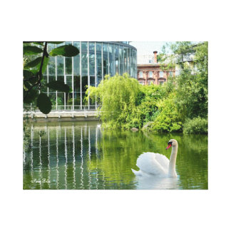 Sunderland - Mowbray Gardens Gallery Wrapped Canvas