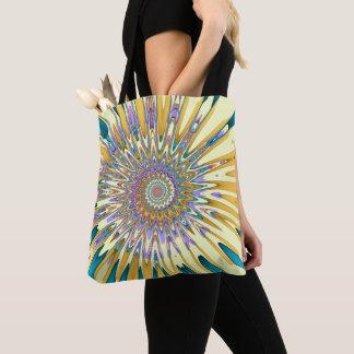 Sundial Fractal Tote Bag