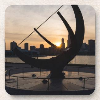 Sundial Sunset Coaster