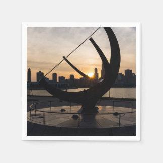 Sundial Sunset Disposable Napkins