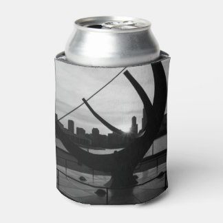 Sundial Sunset Grayscale Can Cooler