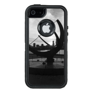 Sundial Sunset Grayscale OtterBox Defender iPhone Case