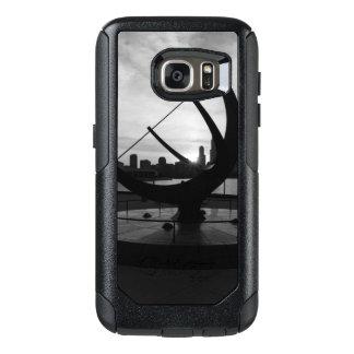 Sundial Sunset Grayscale OtterBox Samsung Galaxy S7 Case