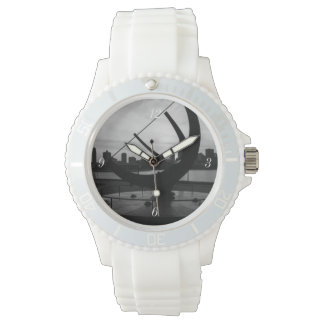 Sundial Sunset Grayscale Watch