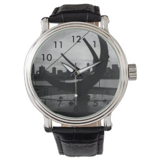 Sundial Sunset Grayscale Watch