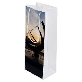 Sundial Sunset Wine Gift Bag