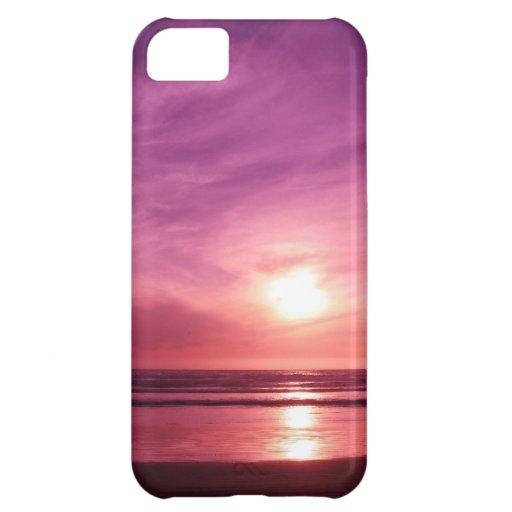 Sundown at the Beach iPhone 5C Covers