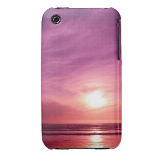 Sundown at the Beach iPhone 3 Covers