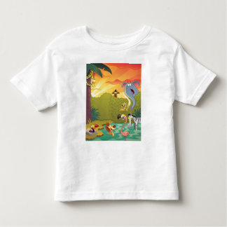 Sundown At The Water Hole Toddler T-Shirt