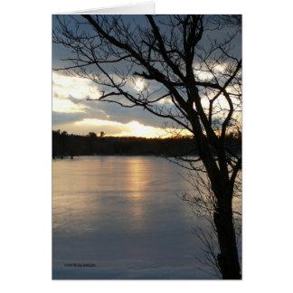 Sundown Feb 15th Greeting Card