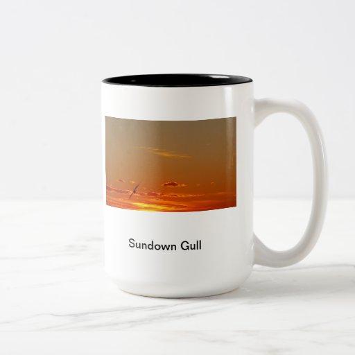 Sundown Gull Mug