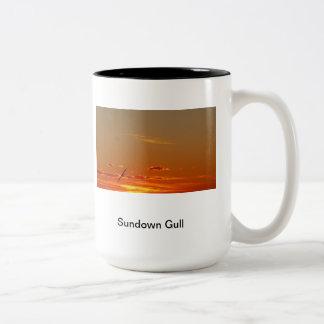 Sundown Gull Two-Tone Coffee Mug