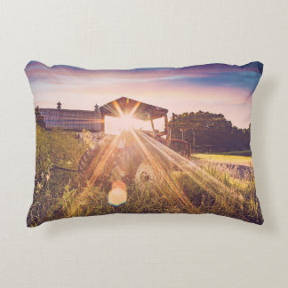 Sundown in the Country Cotton Pillow