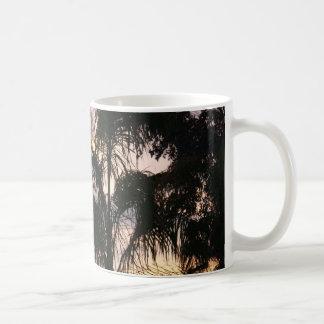 SUNDOWN IN THE DESERT COLLECTION CLASSIC WHITE COFFEE MUG