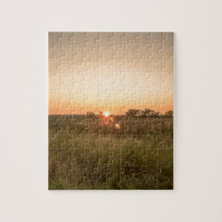 Sundown Jigsaw Puzzle