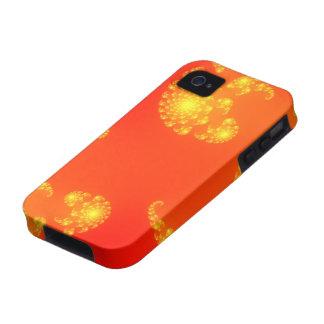 Sundown Julia Fractal Mandelbrot Art iPhone 4 Case