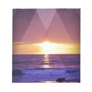Sundown Memo Note Pad
