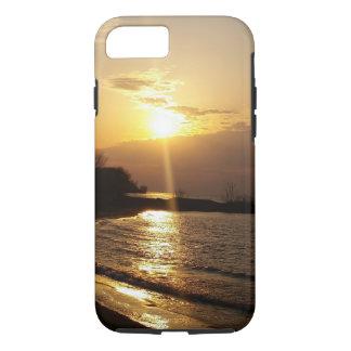 Sundown on the Lake iPhone 7 Case