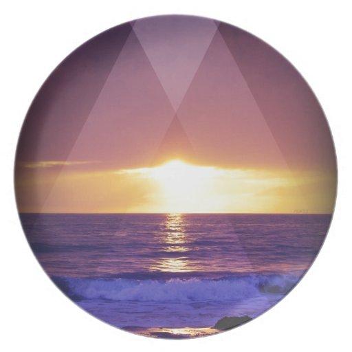 Sundown Plate