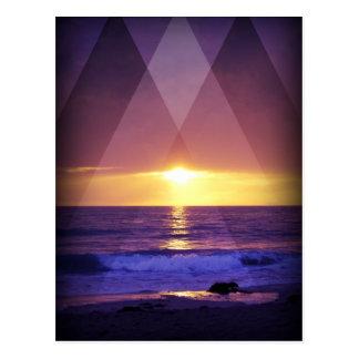 Sundown Post Card