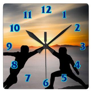 Sundown Sword Fight Clock