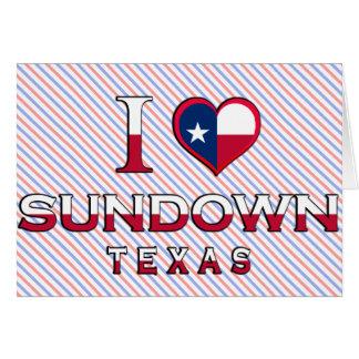 Sundown, Texas Card