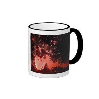 Sundown through the the through coffee mug
