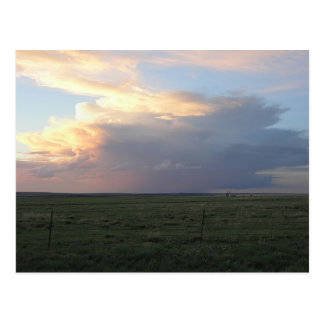 Sundown Thunderhead Postcard