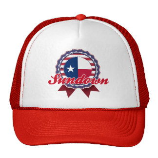 Sundown, TX Mesh Hats