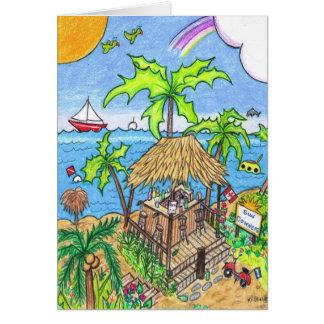 Sundowners Greeting Card