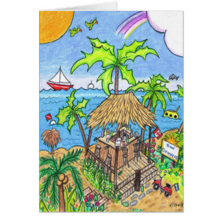 Sundowners Greeting Card