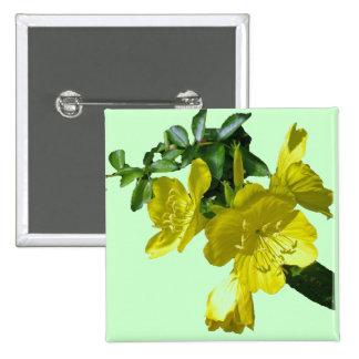 Sundrops Primrose Coordinating Items 15 Cm Square Badge