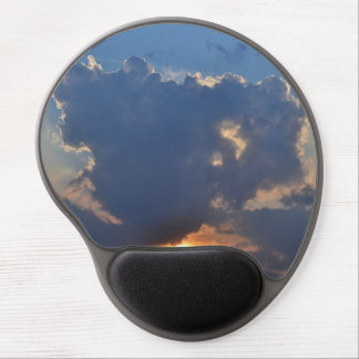 Sunet With Teacup Cloud Formation Gel Mouse Pad