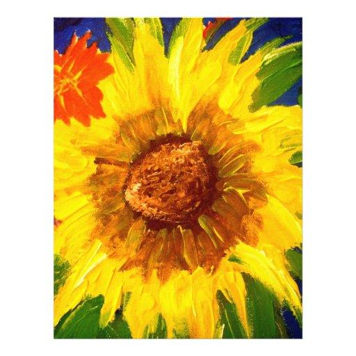 Sunflower2 21.5 Cm X 28 Cm Flyer