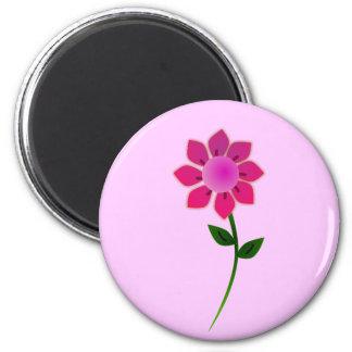 sunflower2_Vector_Clipart 6 Cm Round Magnet