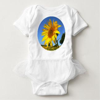 Sunflower 01.1rd, Field of Sunflowers Baby Bodysuit