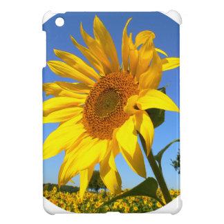 Sunflower 01.1rd, Field of Sunflowers iPad Mini Case