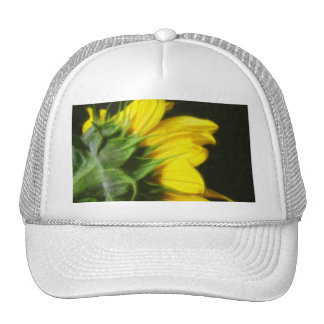 Sunflower 1 Painterly Mesh Hats