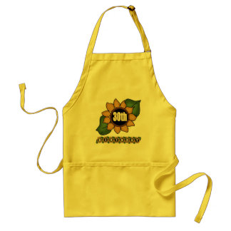 Sunflower 30th Birthday Gifts Aprons