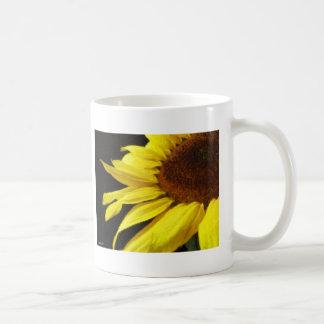 Sunflower 3 Painterly Coffee Mugs