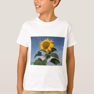 Sunflower against blue sky T-Shirt