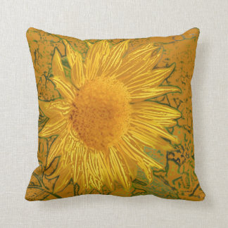Sunflower American Mojo Pillow
